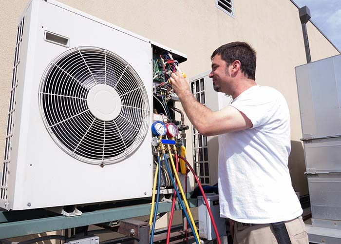 commercial ac repair contractor in Houston