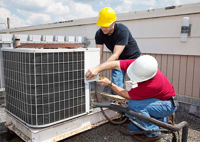 commercial HVAC air conditioner installation & replacement in Houston